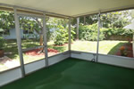 You'll enjoy the screened porch