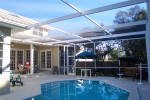Pool  home in gated community of Placido Bayou marketed by Sharon Simms Saint Petersburg Florida